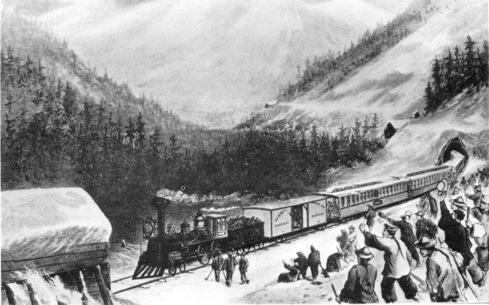 an analysis of the chinese labor contribution to the building of the central pacific railroad