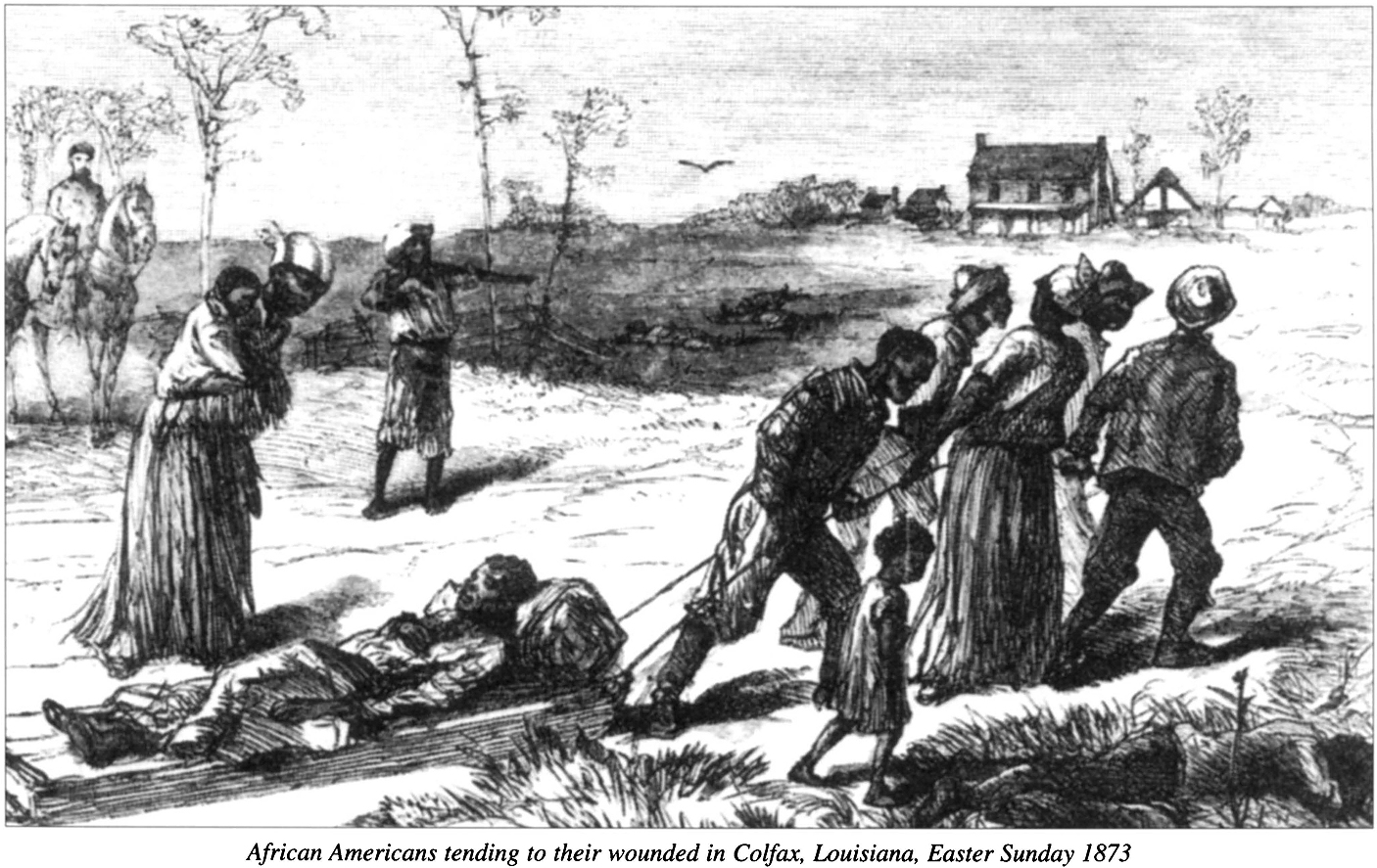 the colfax massacre The colfax massacre, one of the bloodiest mass-murders during the reconstruction, took place on april 13, 1873 in colfax, louisiana the massacre / riot was a result of the gubernatorial.