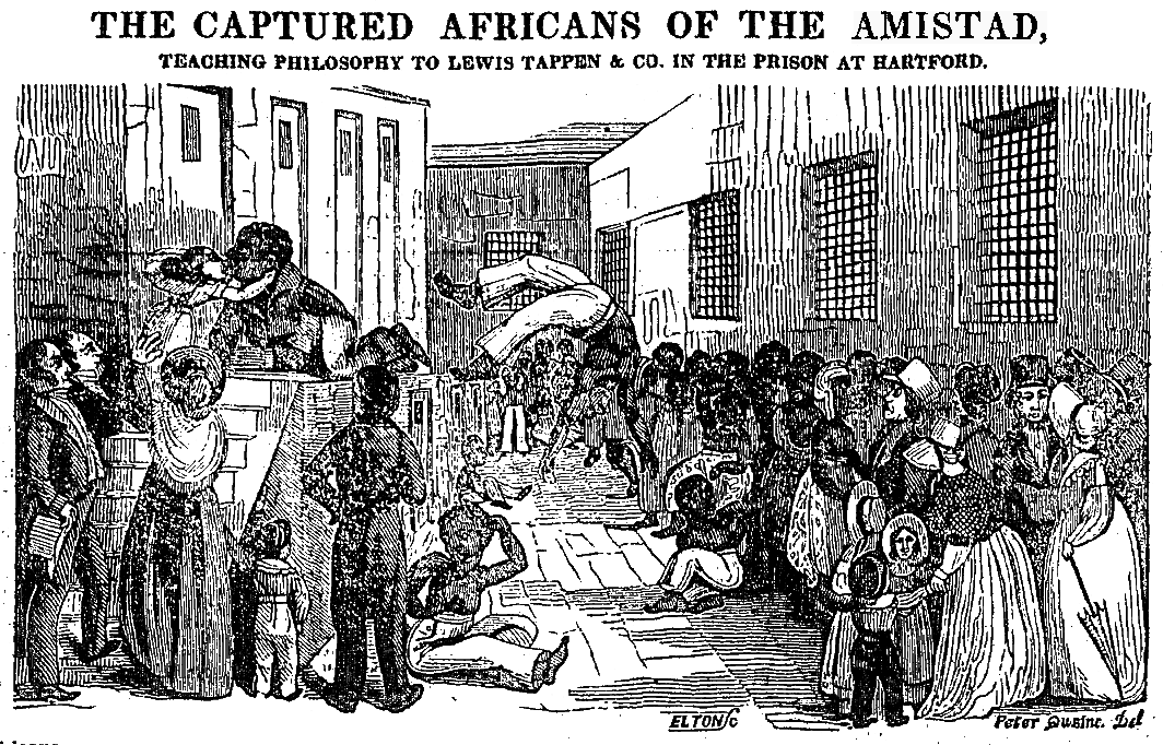 amistad a history of an 1839 slave revolution Battle of the american revolution  history recounts the trial that followed the 1839 rebellion aboard the spanish slave ship amistad and.