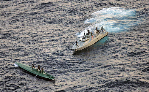 Cartel 'narco submarines' - Business Insider