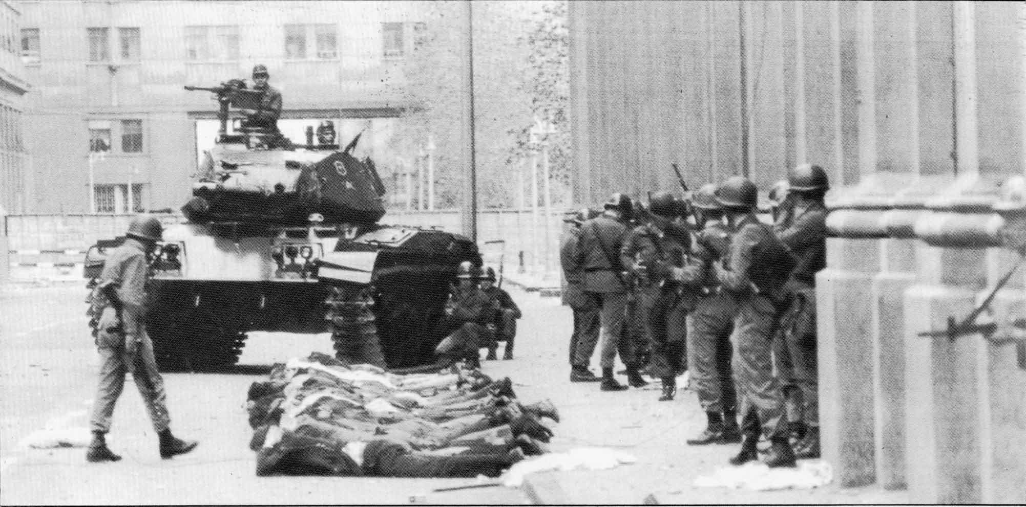 September 11, 1973 - military coup in Chile