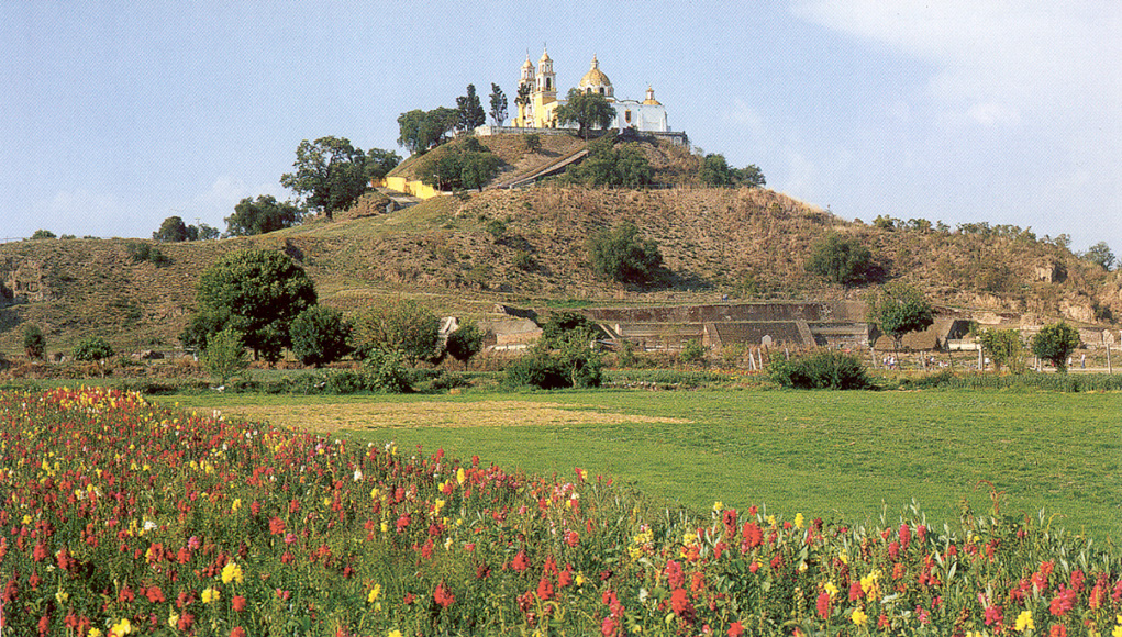 Cholula-Church-1