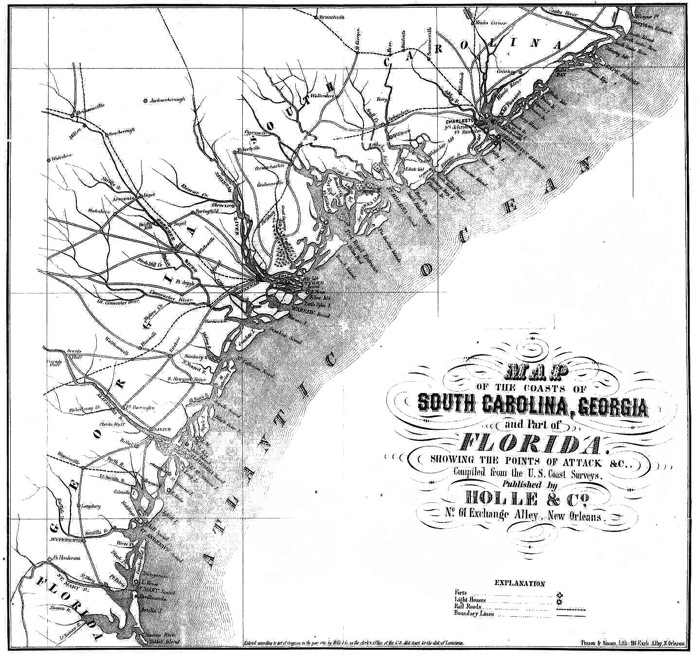 Image Result For Map Of S Carolina