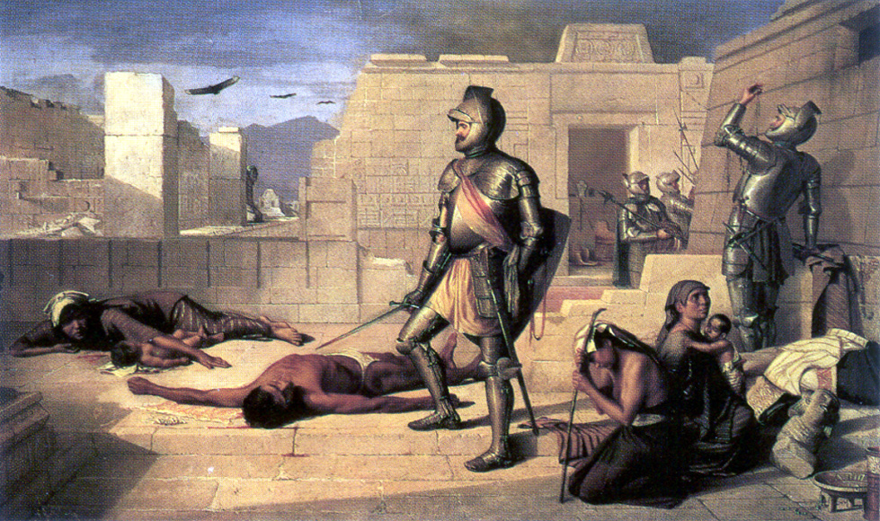 the spanish conquest of mexico English: the spanish conquest of the aztec empire or the conquest of méxico — the warfare from 1519 to 1521, in present day mexico media related to this warfare, the engaged aztec and spanish people involved, and including those related to the subjection of aztecs and their allies after the 1521 fall of tenochtitlan.