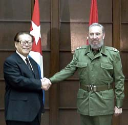 Image result for castro and chinese diplomats