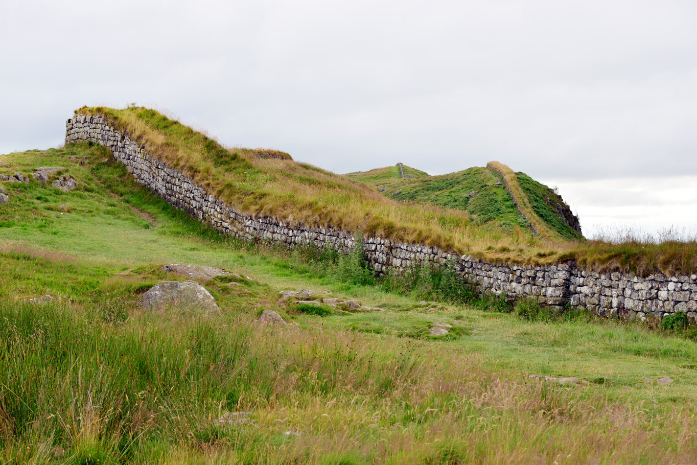 Housesteads on Hadrians