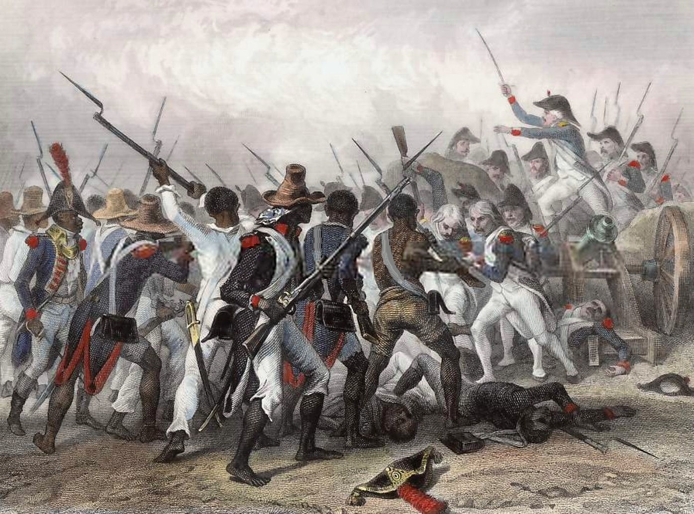 Battle vertieres 1803