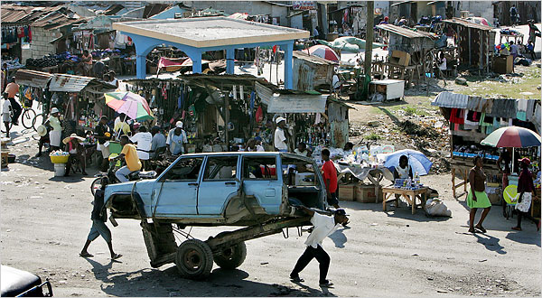 Haiti - Poverty stricken and backward - Shall we blame their problems on Apartheid too? - Photo: Latinamericanstudies.org