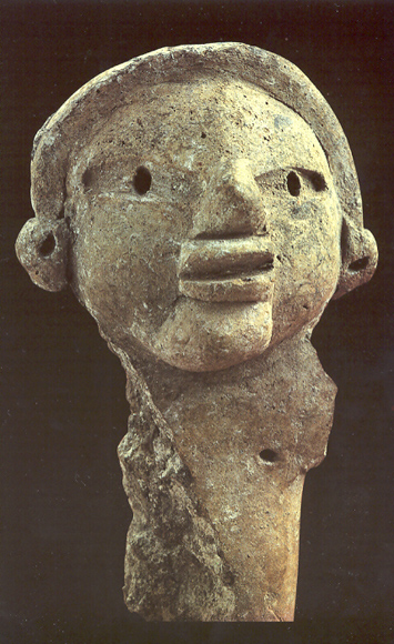 Ceramic Heads And Monuments