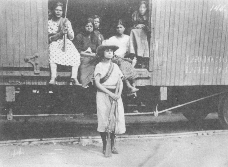 women participation during the mexican revolution Full answer women fared differently during different phases of the french revolution and not all women participated in the same way or had anywhere near the same views of the revolution itself.