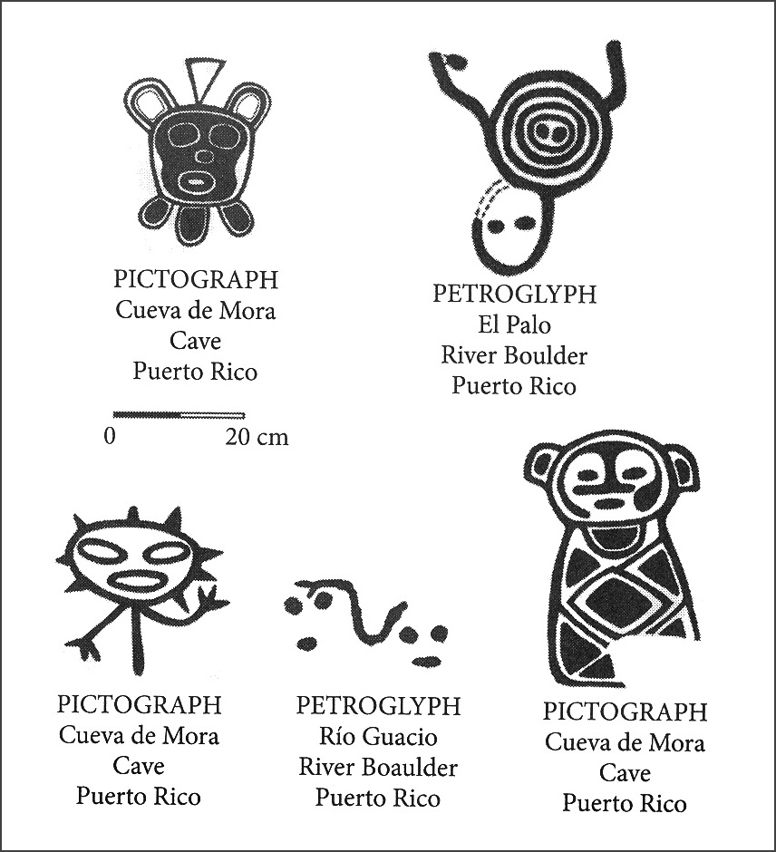 Petroglyphs And Pictographs Of Puerto Rico