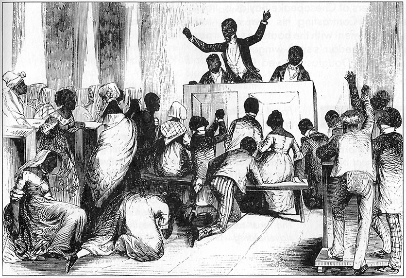 the conversion of african american slaves to christianity Historical context of african american religion the slave trade resulted in africans being transported to the new world beginning as early as the fifteenth century.