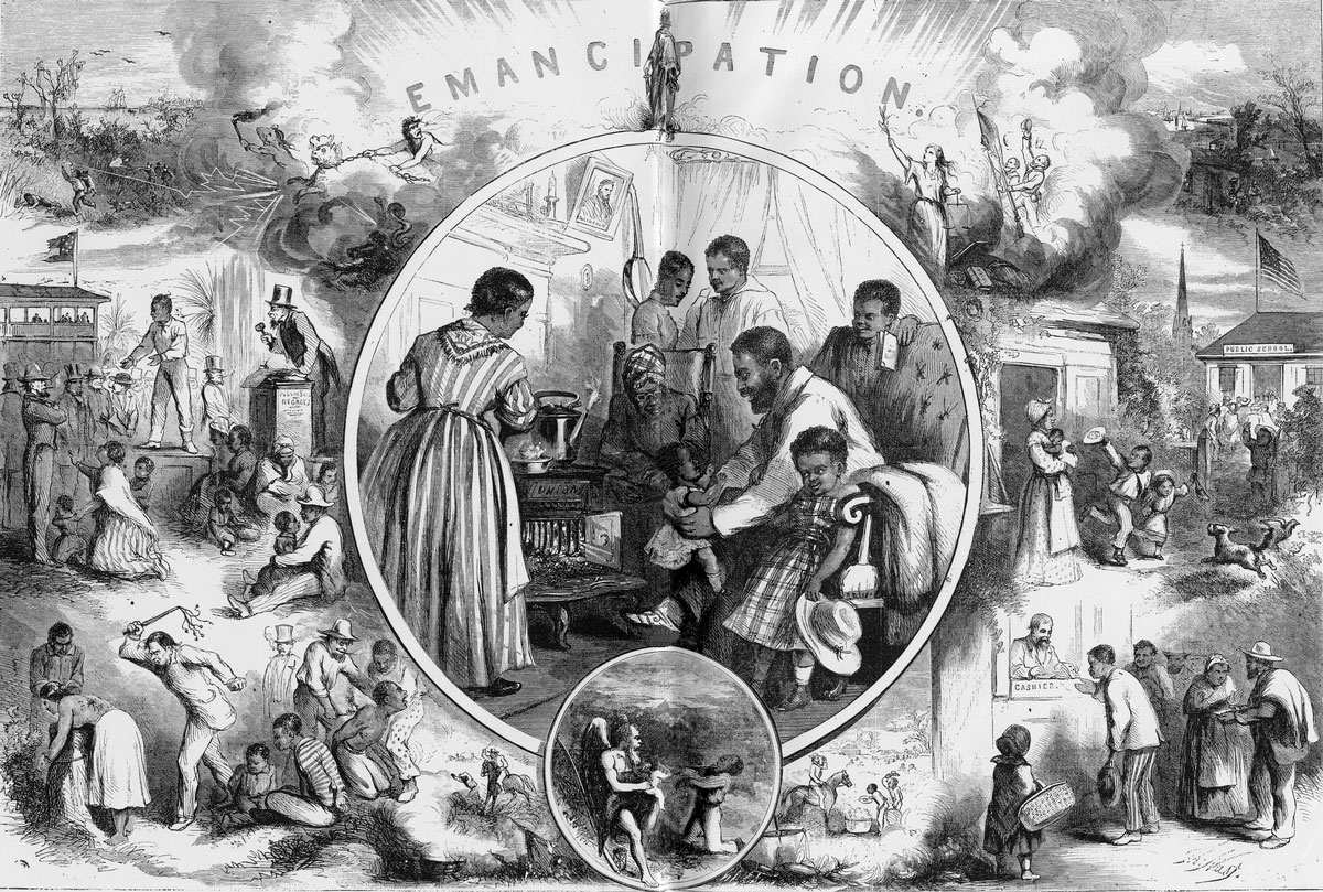 the situation of black people in america after the emancipation proclamation Many people believe that the emancipation proclamation effectively ended slavery but the truth is far more complicated than that the emancipation proclamation was created by abraham lincoln as a way to try and take advantage of the rebellion that was currently underway in the south.
