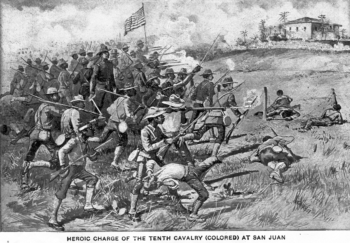 battle analysis of san juan hill Buffalo bill, rough riders, and the manly  the battle of san juan hill on  wild west of the heroic charge up san juan hill proved that the white american.