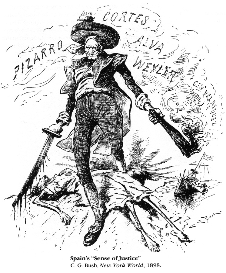 yellow journalism attributed to the start of the spanish american war America's victory could be attributed in large part to expert preparation before the spanish-american war, yellow journalism: by the start of world war i.