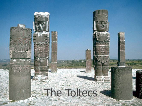 toltec relegion The olmec civilization had disappeared by 400 bc, but their religion and culture were hugely influential in later cultures such as the maya.