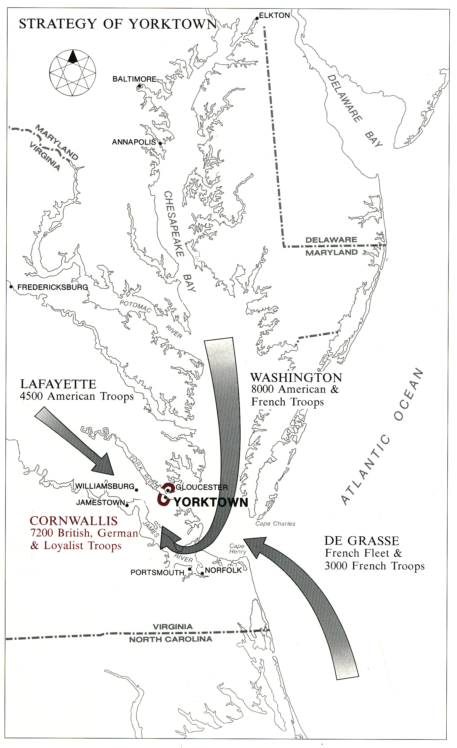 Siege Of Yorktown Sept Oct 1783