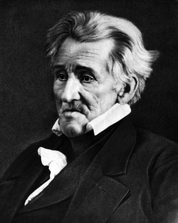 the presidency of andrew jackson in the united states Martin van buren was the first to be a united states  george washington, james monroe, andrew jackson  the first southerner elected to the presidency.