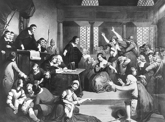 What caused the salem witch trial hysteria of 1692 essay