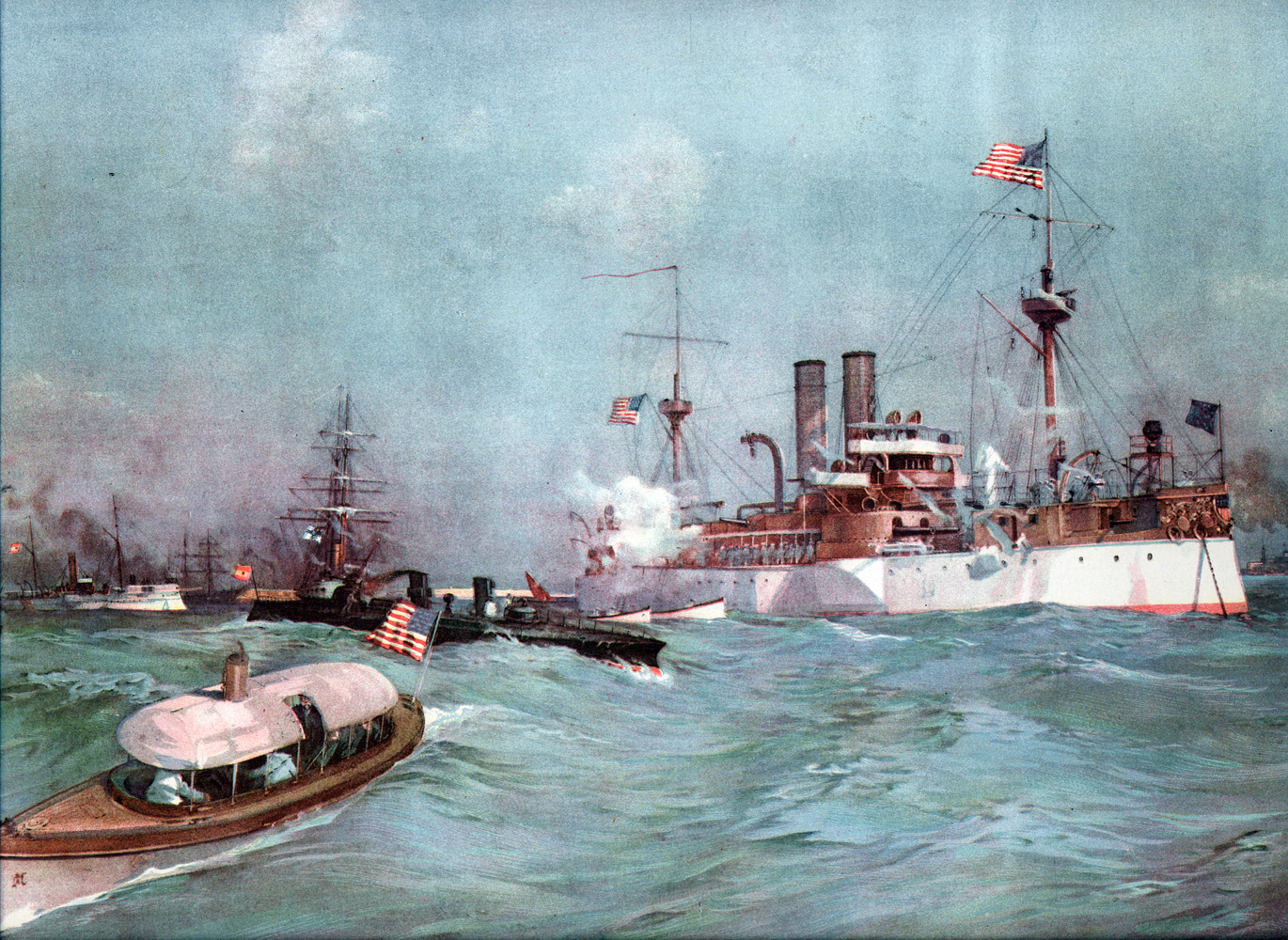 uss maine explosion The uss maine was a second-class battleship commissioned in 1895 that was part of the new us navy fleet of steel ships it exploded in havana.