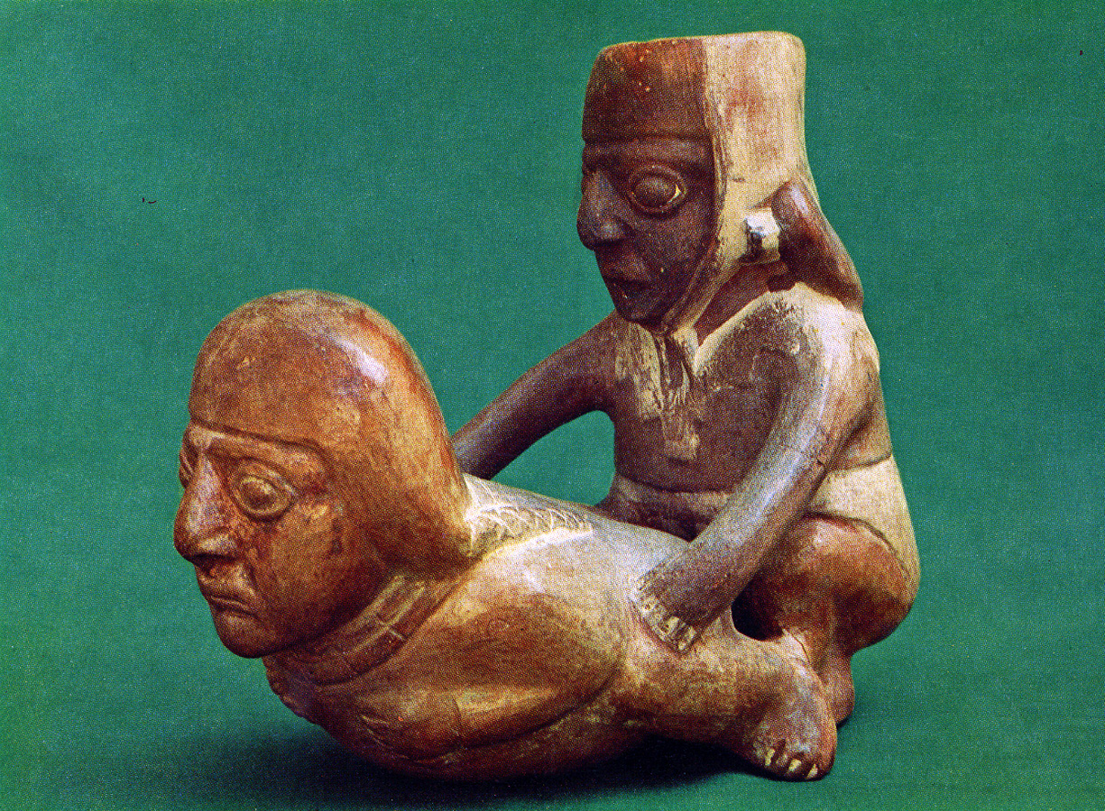 Moche pottery homosexual
